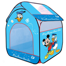 82x90x106cm Outdoor Fun Sports Micky Lawn Tent Kids Play Game House Pool Children Tent Ocean Ball Pool Baby Educational Toys