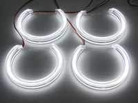 천사 눈 크리스탈 빛 smd led 헤드 라이트 파이프 라인 빛 실행 빛 drl bmw e36 e38 e39 e46 프로젝터