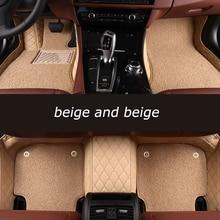 HeXinYan Custom Car Floor Mats for Isuzu D-MAX mu-X auto accessories car styling