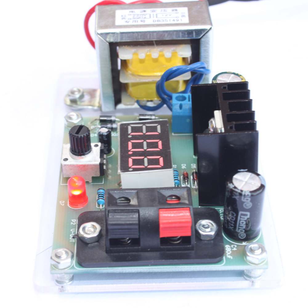 12 Volt Adjustable Power Supply Circuit Electronic Circuit