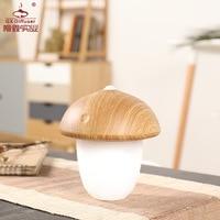 Tuda Free Shipping Energy Saving Lamp Charging LED Learning Night Light Mushroom Shaped Desk Lamp Modern Design Desk Lamp
