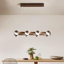 Nowoczesne biuro światła Led żyrandol Nordic apartament loft lampa do czytania jadalnia żyrandole badania przemysłowe sztuki żelaza u nas państwo lampy Żyrandole Lampy i oświetlenie -