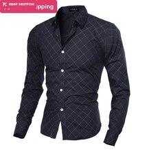 2015 New arrival 9 Colors Men'sFashion Striped Style Long Sleeve Men's Shirts,Casual Slim Fit Dress Shirts,SIZE M-2XL,GX5184 мужской блейзер other 2015 slim fit 2xl a4