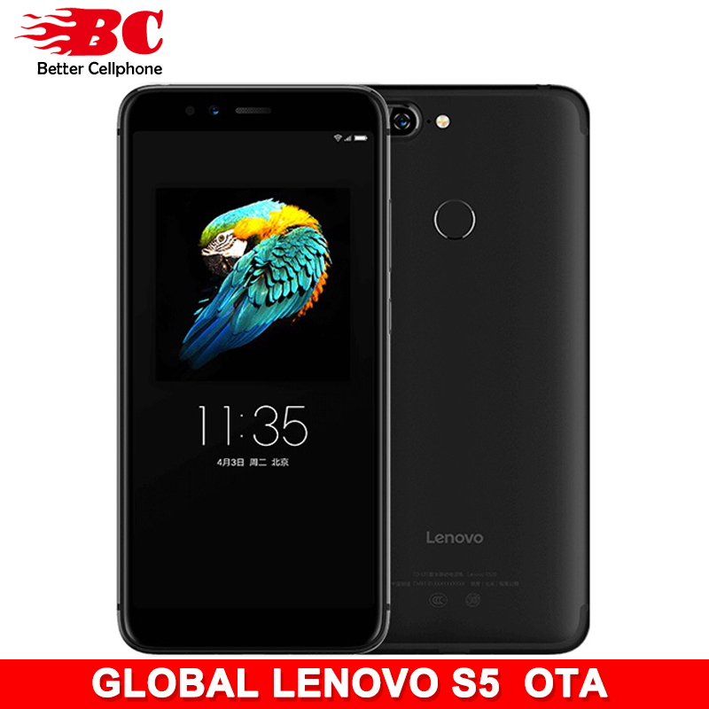 Lenovo S5 K520 Support Watch 9 and OTA Snapdragon 625 Octa-Core ZUI3.7 2.0Ghz 3+32GB 3000mAh Rear13MP+13MP FaceID Global version