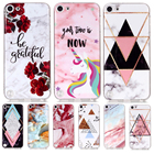 Marble Unicorn Case For Coque Apple iPod Touch 5 Back cover Soft Silicone TPU For Funda iPod Touch 6 etui cute protective Shell
