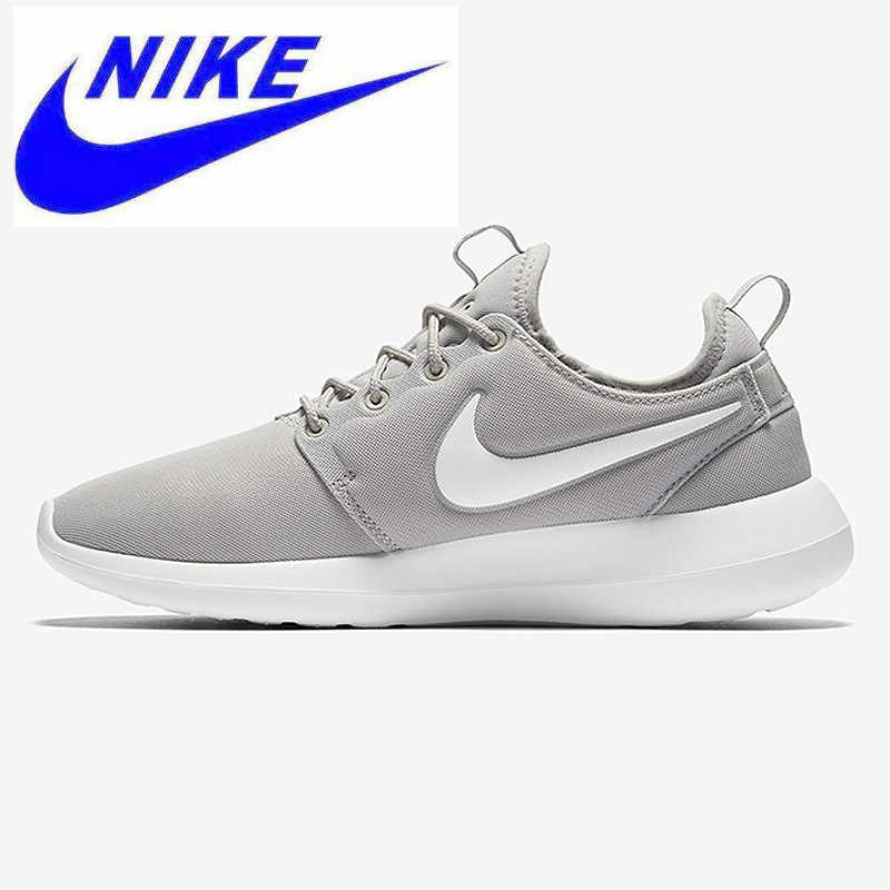 reputable site 674dc 52bb9 Original Official Nike W ROSHE TWO Women Skateboarding Shoes Sport Sneakers  844931,Gray