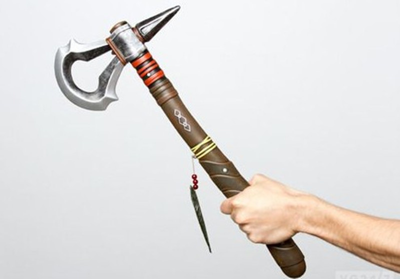 Assassin/'s Creed III Connor Tomahawk Weapon Toy Costume Accessory