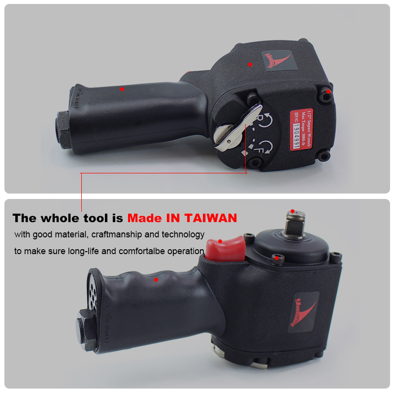 home improvement : YOUSAILING 1 2  High Quality Mini Pneumatic Impact Wrench  Car Repairing  Impact Wrench Tools Auto Spanners 11000 R P M
