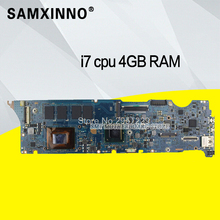 UX31E Motherboard I7 2677 CPU 4GB RAM For ASUS UX31 laptop Motherboard UX31E Mainboard UX31E Motherboard