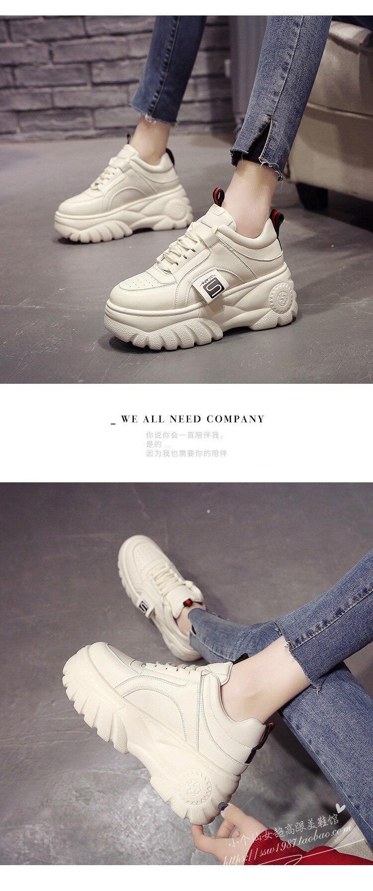 primavera sapatos femininos preto branco tênis respirável