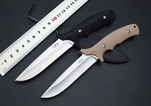 2 Colors!!!ZT 0170 Tactical Fixed Knife 9Cr18Mov Blade G10 Handle Hunting Knife Survival Knife Camping EDC Toos Free Shipping
