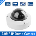 Мини Купольная Ip-камера Onvif 2-МЕГАПИКСЕЛЬНАЯ HD Сеть ВИДЕОНАБЛЮДЕНИЯ Камера 1080 P Безопасности Ик-cut 1920*1080 P2P поддержка Телефон Android IOS Вид