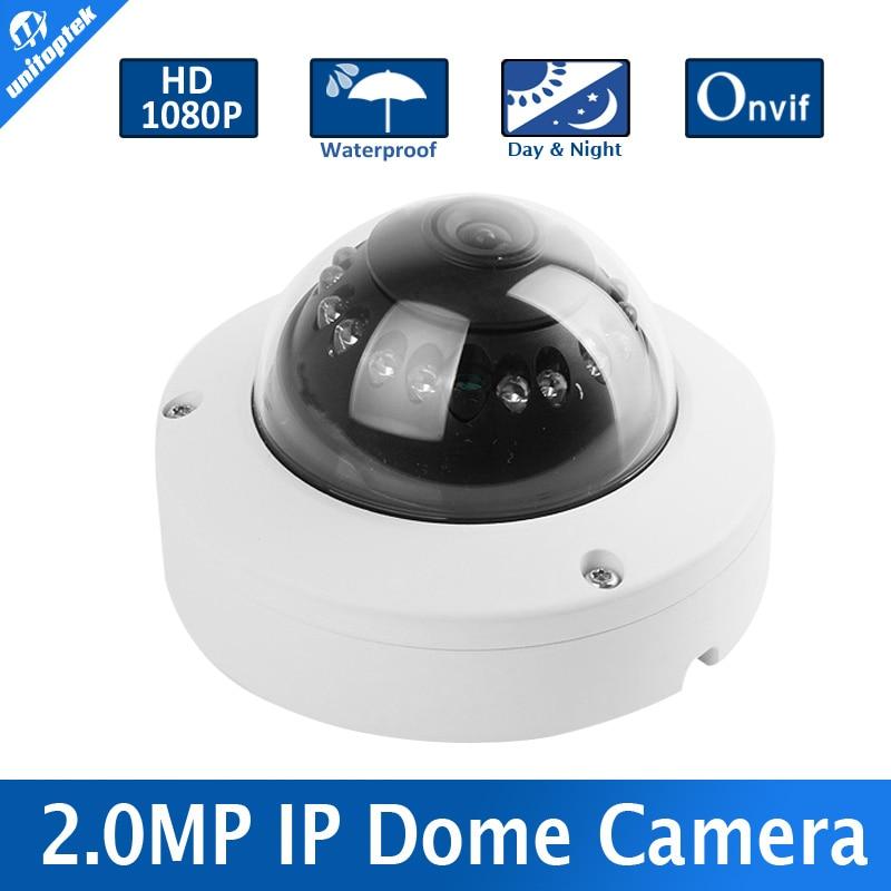bilder für Mini Dome Onvif Ip-kamera 2MP HD Netzwerk Cctv-kamera 1080 P Sicherheit IR-Cut 1920*1080 P2P unterstützung Telefon Android IOS Ansicht