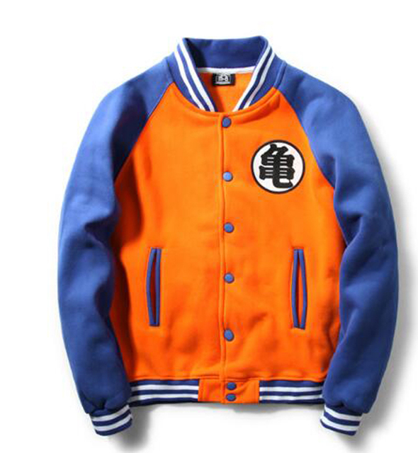 Dragon Ball Baseball Jacket