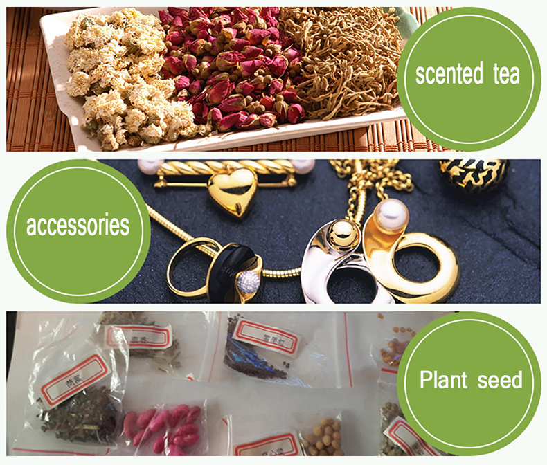 1 Transparent,Ziplock bag,Reseal,Zipper,Bulging ed edge,line,package,Store,Home,Office,food,magazine,Powder,granules.Dried fruit,tea,seasoning,whole grains,casual  (4)