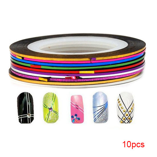Nail Arts Decor Accessories 10pcs DIY Fingernail Fashion