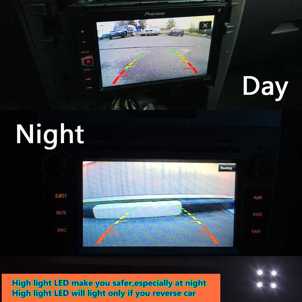 "HD 8LED רכב הפוך מצלמה עבור יונדאי הסונטה סנטה פה Elantra KIA Opirus Sorento Ceed Forte Cerato 5 ""צג חניה Wirelesss"