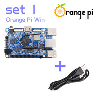 Orange Pi Win SET1: Orange Pi Win + USB to DC 4.0MM - 1.7MM Power Cable