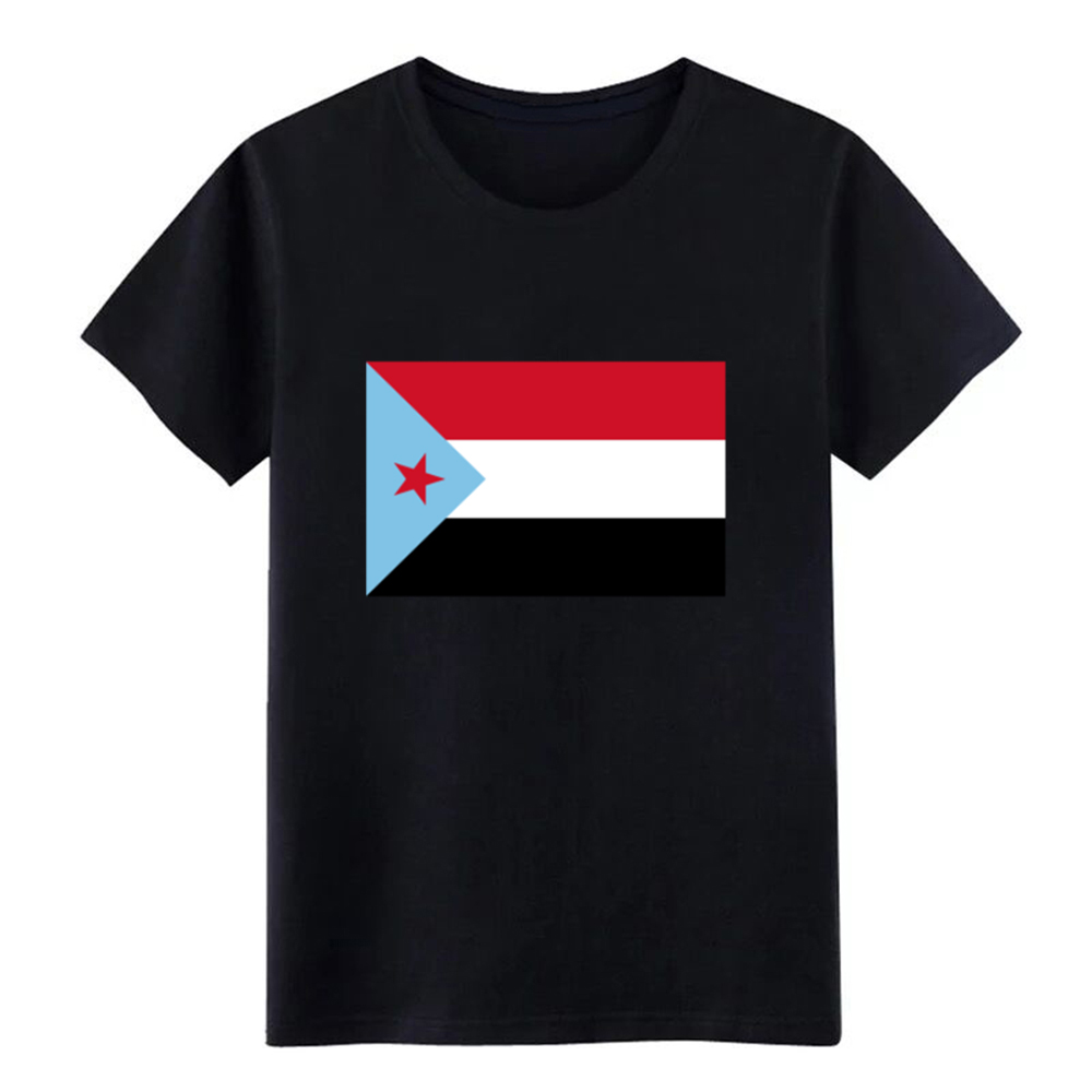 Men's The People's <font><b>Democratic</b></font> Republic of Yemen t <font><b>shirt</b></font> Design Short Sleeve Crew Neck Pictures Crazy Funny Spring Natural <font><b>shirt</b></font> image