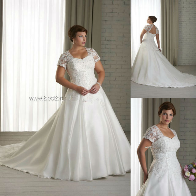 Wedding Dresses With Sweetheart Neckline And Sleeves: Aliexpress.com : Buy Sweetheart Neckline Cap Sleeve With