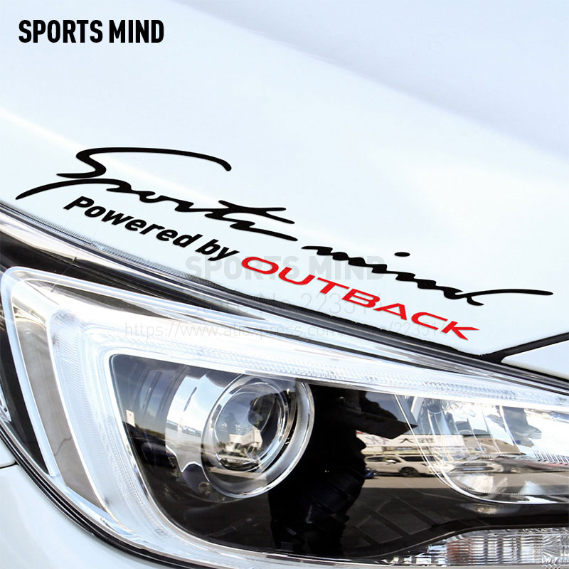 10 Pieces Sports Mind Car Styling On Car Lamp Eyebrow Automobiles Car Sticker For subaru outback exterior accessories