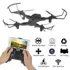 TIANQU XS809W Foldable RC Drone RTF WiFi FPV G sensor Mode RC Helicopters Quadcopter One Key Return - 5
