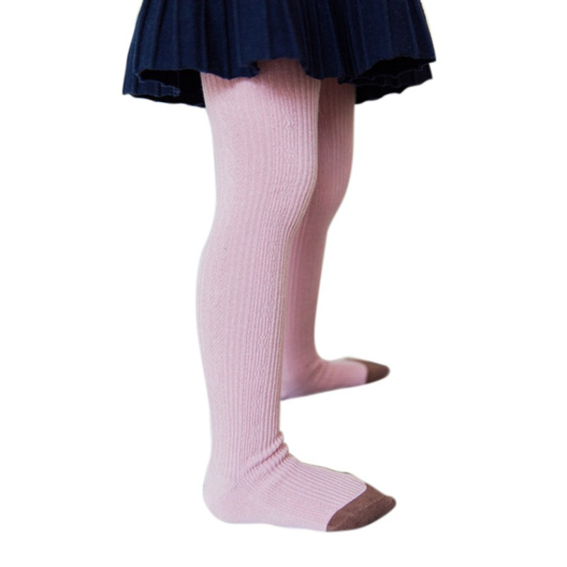 Autumn Winter Warm Multi Colors Girls Stocking Toddler Girls Knitted Cartoon Baby Girls Tights Baby Girl Stocking For 2-10 Y