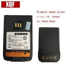 Original BL1504 li-on 7.4V 1500mAH Battery for Hytera HYT Radio PD60X PD50X Walkie Talkie