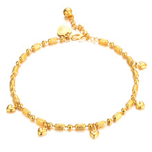 Fashion Handmade Foot Chain Charming Lady's Sexy Europe Style Anklets Metal Adjustable Ankle Chains KZ725
