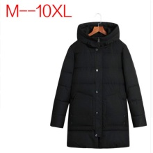 10XL 9XL 8XL 6XL Winter Jacket Men Parkas Male Coat And Casual Cotton Padded Hooded Overcoat Quilted Warm Long Jackets For Man