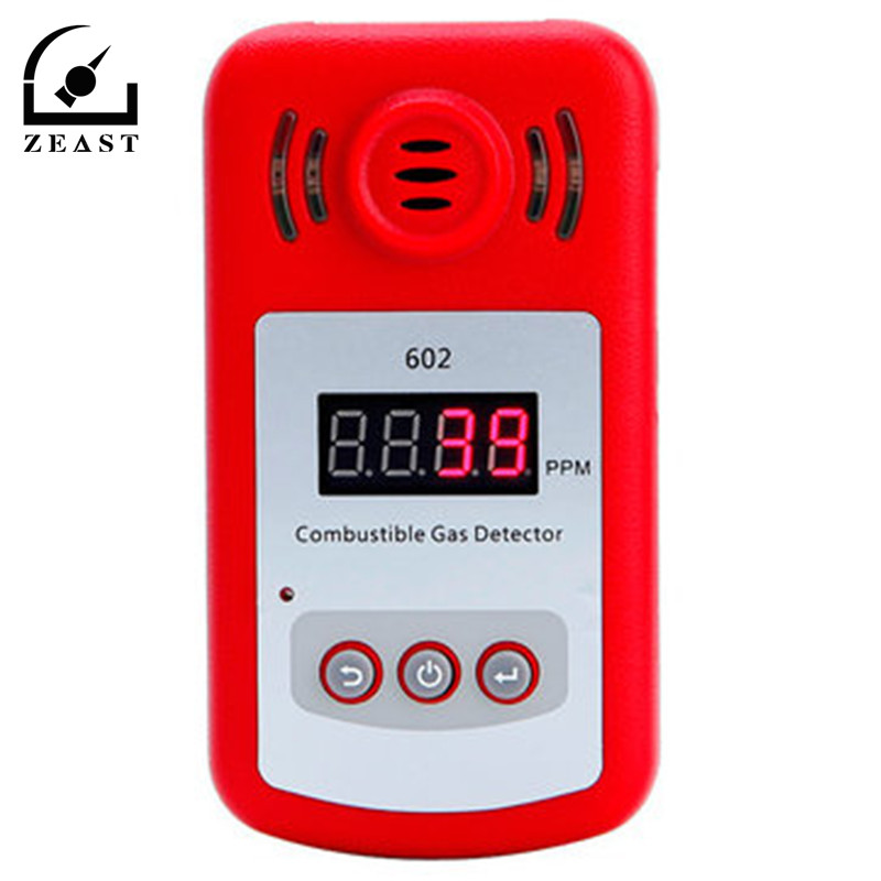 KXL-602 Portable Mini Combustible Gas Detector Analyzer Gas Leak Tester With Sound And Light Alarm Gas Leak Detector Gsm Alarm 2016 new handheld formaldehyde gas detector sound alarm gas analyzer