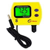Professionnel Portable indicateur TEMP ph Aquarium test Acidimètre Analyseur de qualité de l'eau pureté testeur pH 0.00 ~ 14.00