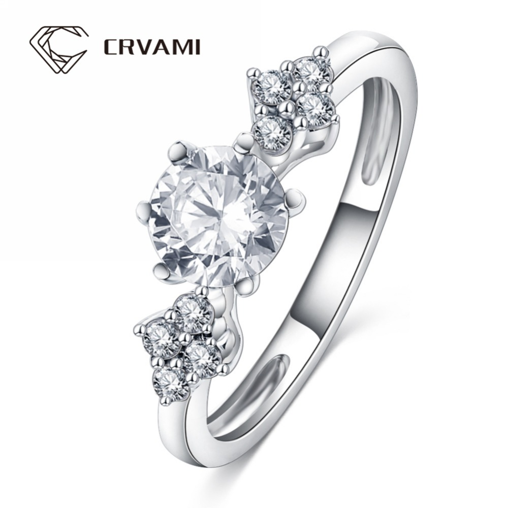 CRVAMI Ring, Fashion New Style Engagement Promise Rings