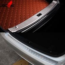Interior & Exterior Rear Trunk Bumper Sill Plate Cover Trim For Mercedes Benz E Class W212 E200 E250 E300 E350 E400 2010- 2015