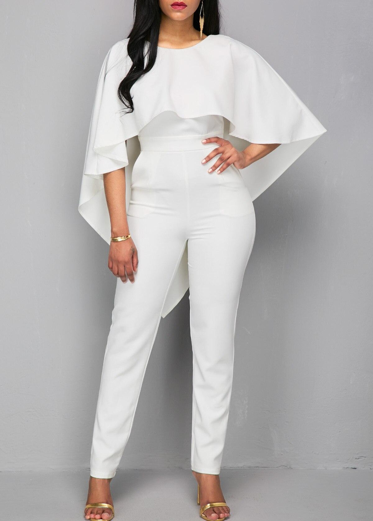 08f630c0cd5b8 Amazon Ladies White Jumpsuits - raveitsafe