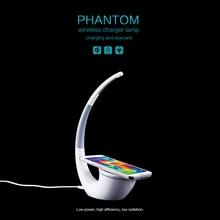 Nillkin di Alta la tecnologia Senza Fili del Caricatore Phantom Lampada Da Tavolo Senza Fili Vita Caricatore di Potere Del Telefono per xiaomi mi Dellottica 9 S10 S10E