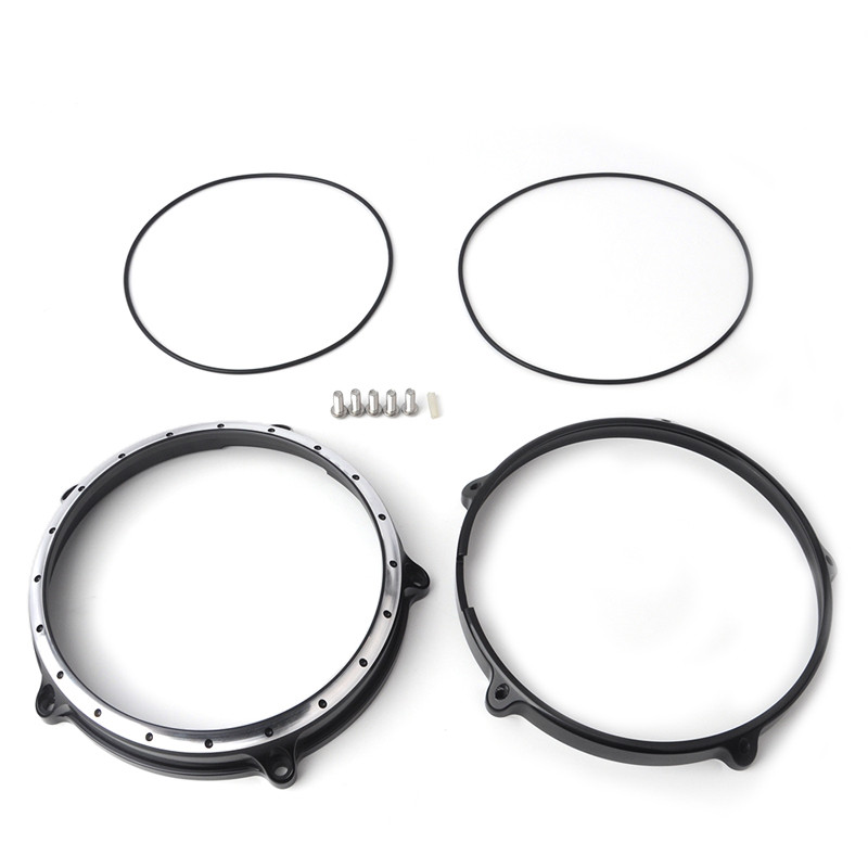 R Nine T Motorcycle 7 Headlight Lamp Bezel Trim Ring for BMW R NINE T 2014 2015 2016 for bmw r nine t techometer speedometer ring cover r 9t