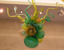 Free Shipping Fancy Villa New Ceiling Light Chihuly Style Led House Deco