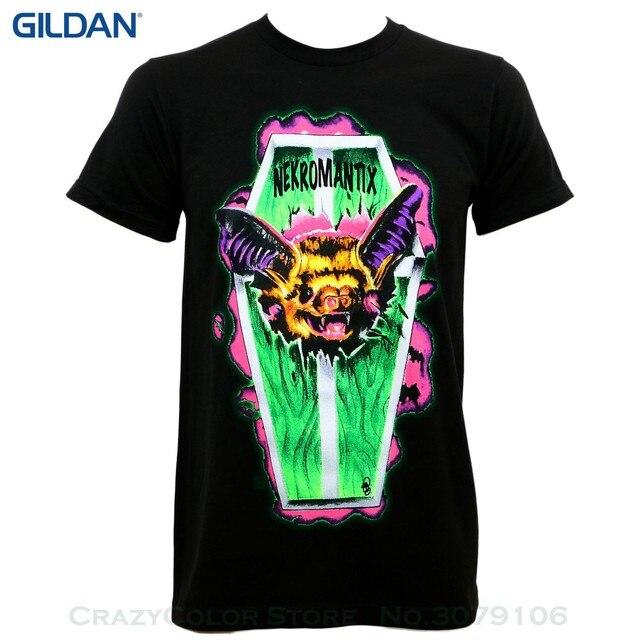 484fc4a26d25 Male Best Selling T Shirt Authentic Nekromantix Coffin Psychobilly Slim-fit  T-shirt S M L Xl 2xl New