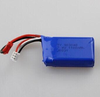WL A959 rc car spare parts battery 7 4v 1100mah WLtoys A949 A959 A969 A979 backup