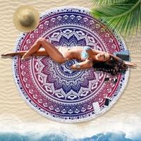 India macrame exotic tapestry wall hanging witchcraft Mandala religious tapestry sunflower bohemia round carpet yoga mat towel