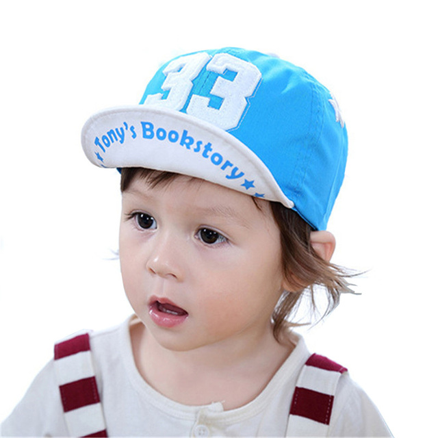 1497d2eddcf 2017 Summer Hat for Baby Cotton Comfortable Infant Hats Cute Casual Eaves  Baseball Cap Baby Boy Beret Baby Girls Sun Hat