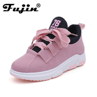 2018 Fujin Spring Summer Autumn Women New Arrival Sneakers Round Toe Female Casual Flats Outdoor Walking