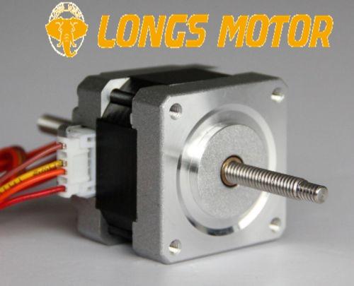 16HSL3404 Linear Stepping Motor 12V 0.01 Step 100mm Stroke for CNC RouterCut Laser Engraving Good Quality LONGS MOTOR
