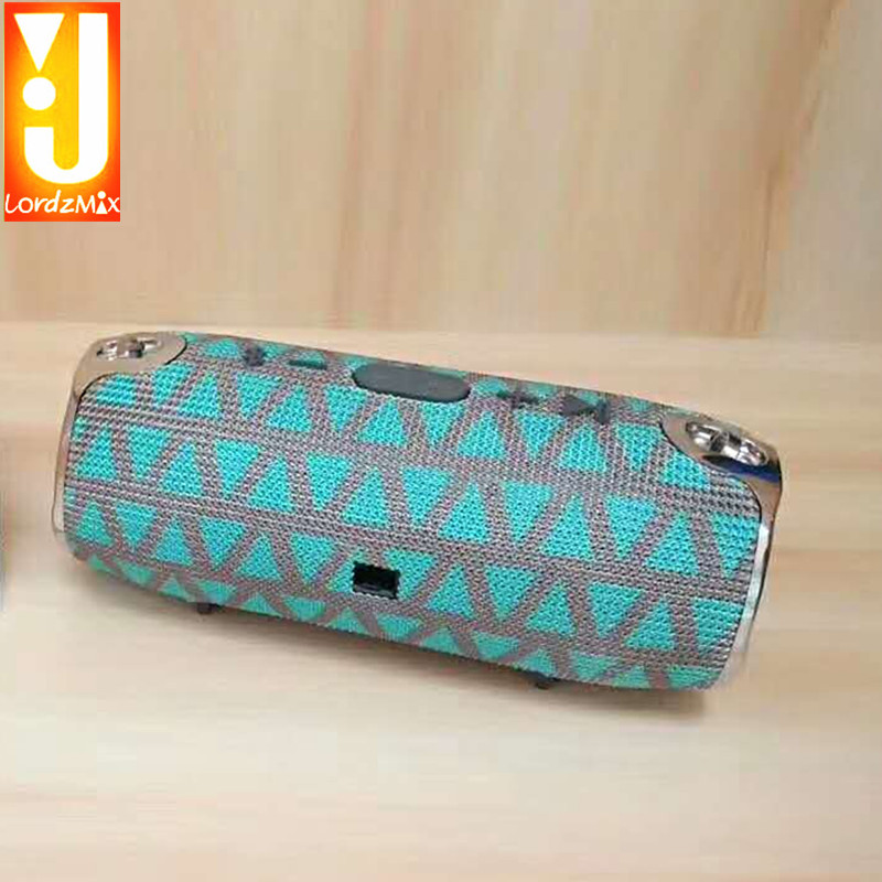 Wireless Bluetooth Speaker Portable Boom Box Outdoor HIFI  Column Speaker Sound Box with FM Radio for cell phone xtremes