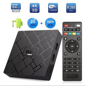 Image 4 - New, Hk1 Mini Smart Tv Box Android 9.0 2Gb+16Gb Rk3229 Quad Core Wifi 2.4G 4K 3D Hk1 Mini Google Netflix Set Top Box(Uk Plug)