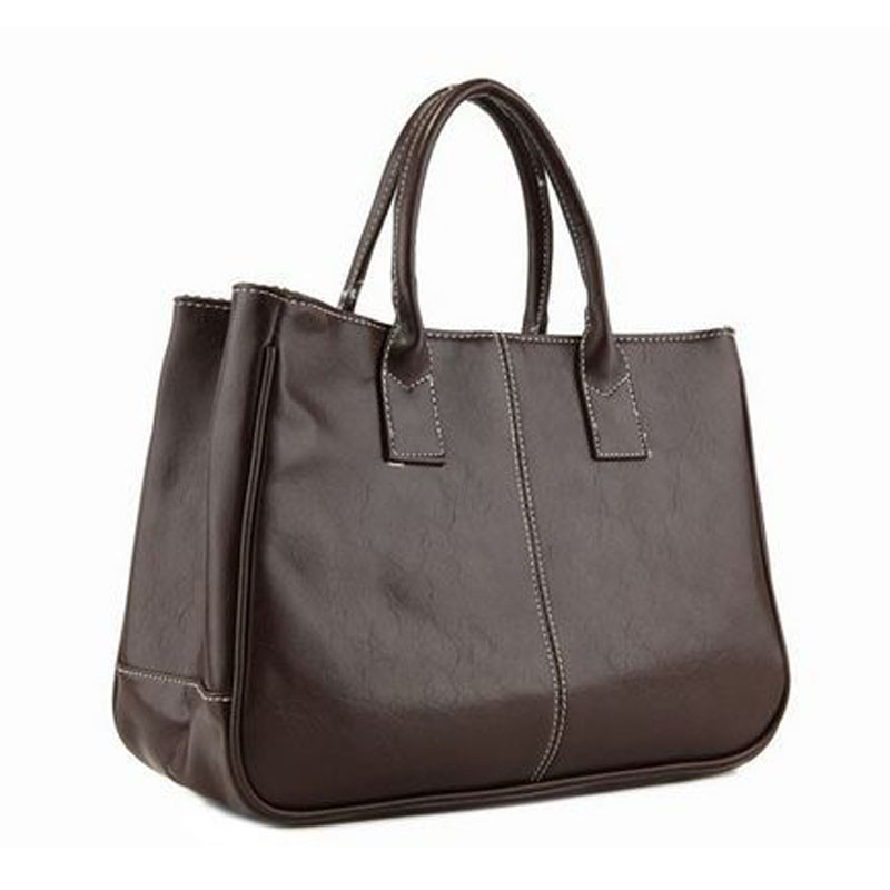 STSR Leather shoulder bag fashion ladies Messenger bag handbag 2019 women's Messenger bag ladies black 32CM*13CM*25CM 11