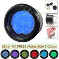"""Nova marca de 2 """"(52mm) pressão 0-150 psi EVO LCD 7 cor de Óleo/auto medidor/car meter/medidor de Pressão/controlador do Impulso"""