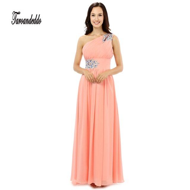 ein Schulter Brautjungfer Kleid | Kleid & Kleidung