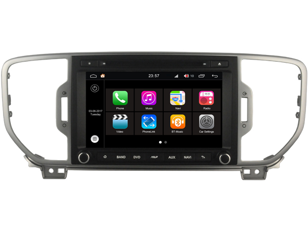 S190 Android 7 1 font b CAR b font DVD player FOR KIA Sportage 2016 font